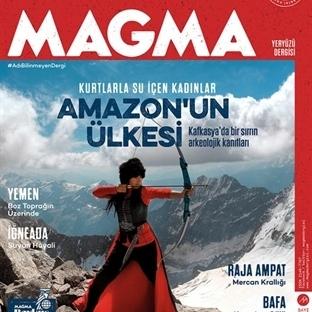 Magma Dergisi yayın hayatına başladı