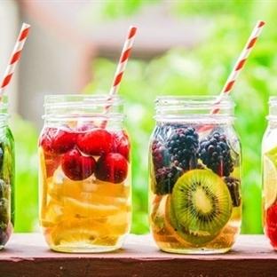 Metabolizma Hızlandırıcı Soğuk Çay Tarifleri