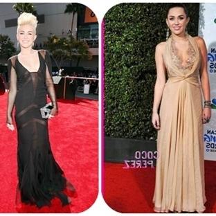 Miley Cyrus ile Kırmızı Halı Kıyafetleri ve Stili