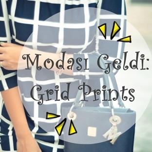 Modası Geldi: Grid Prints