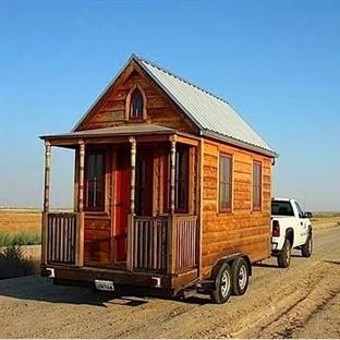 Muhteşem Tasarım Taşınabilir Ahşap Ev