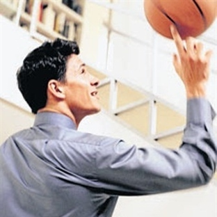 Ofisteki Basketbol Koçu