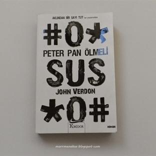 Okudum: Peter Pan Ölmeli - John Verdon