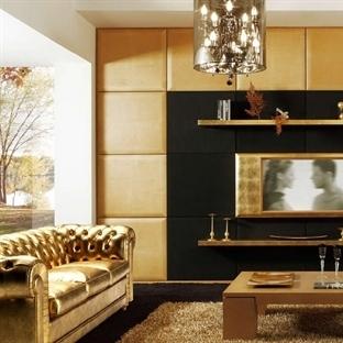 Oturma Odalarınız Altın Rengiyle Işıldasın