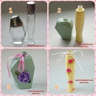 Parfüm Şişelerini Değerlendirme!