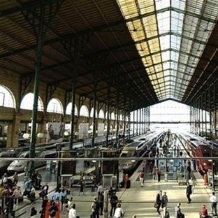 Paris'de gezilecek yerler - Paris Gare Du Nord Tre
