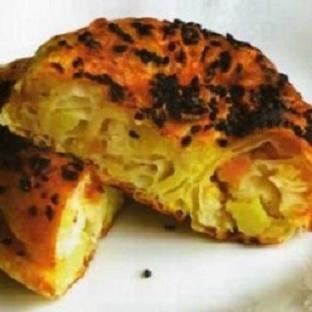 Patatesli Kaşarlı Gül Böreği Tarifi