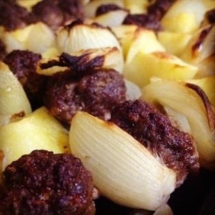 Patatesli Soğan Kebabı
