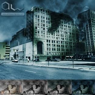 Photoshop ile Terk Edilmiş Şehir Efekti