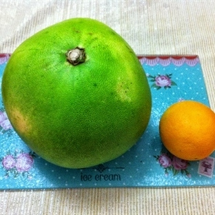 Pomelo Meyvesi - Pomelo Nasıl Soyulur ?