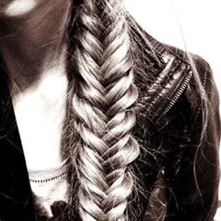 Saçlarda Örgü Modası
