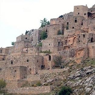 Sakız Adası Anavatos köyü