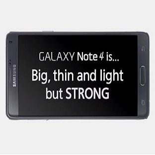 Samsung Galaxy Note 4 Bükülme Testinde !