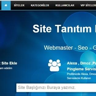 Sitenizi Ücretsiz Tanıtıp Backlink Kazanın!