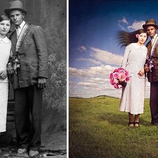 Siyah Beyaz Fotoğrafların Günümüze Uyarlanışı