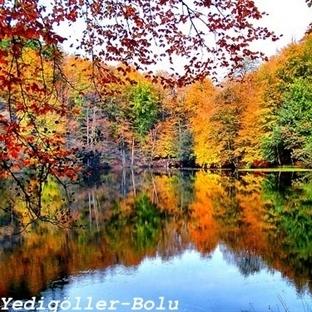 Sonbahar'da Eşsiz Yedigöller Milli Parkına Gidin