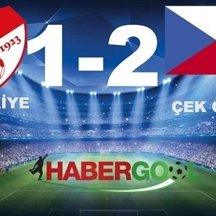 Türkiye 1-2 Çek CUMHURİYETİ Maç Özeti