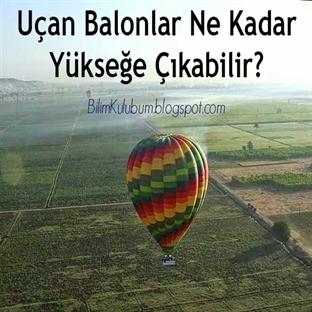 Uçan Balonlar Ne Kadar Yükseğe Çıkabilir?