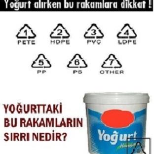 Yoğurt alırken bu rakamlara dikkat !