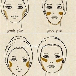 Yüz Şeklinize Göre Makyaj Tüyoları