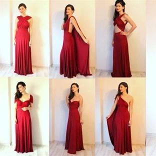 1 elbise ile 7 stil
