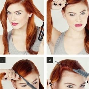 5 Dakikada Yapılabilecek 15 Şık Saç Modeli Yapımı