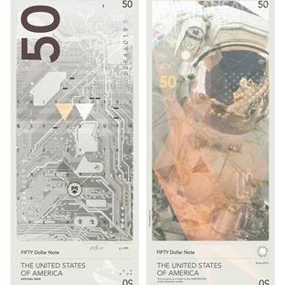 Amerikan Dolarına Sanatsal Dokunuş
