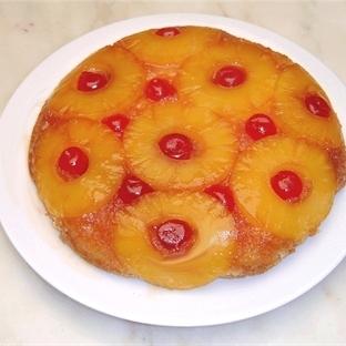 Ananasli Alt Ust Kek - Meşhur Upside-Down Cake