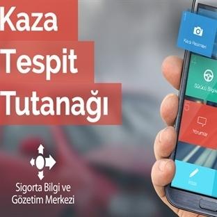 Android İçin Kaza Tespit Tutanağı Hazırlama Uygula