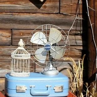 Bavullarla  Evinize Vintage Tarzini Yansitin