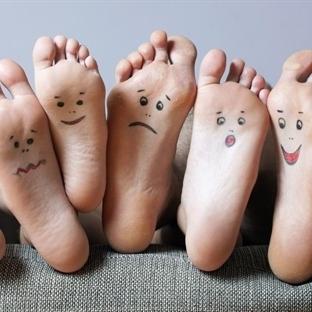 Bayanlar ayaklarınızı tanıyın!