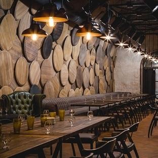 Belenko Design'dan Odessa'da Shustov Brandy Bar