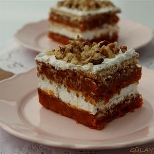 bisküvili bal kabak pastası