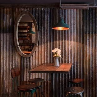 Brinkworth Design'dan Londra'da The Barnyard Cafe