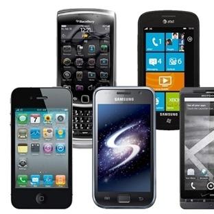 Cep Telefonları Gösteriş Simgesimi