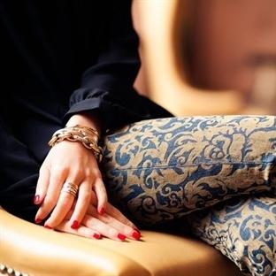 Damask desenli pantolon nasıl kombinlenir?