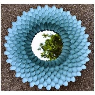 Dıy: Plastik Kaşık İle Dekoratif Ayna Yapımı