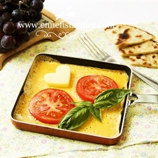Domates Dilimli Omlet