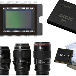 Fotoğraf Makinelerinde Objektif, Görüntü İşlemcisi