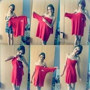 Giymediğiniz Kıyafetleri Değerlendirin #2
