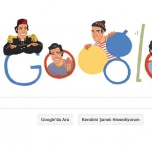 Google'dan Kemal Sunal'ın 70. Yaş Gününe Özel