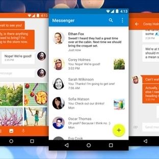 Google Messenger uygulamasını duyurdu. İndirin!