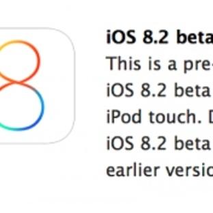 iOS 8.2 beta yayınlandı