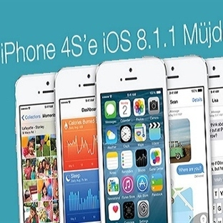 iPhone 4S'e iOS 8.1.1 Dopingi!