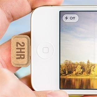 iPhone'lar için Sarj Hapı Teknolojisi