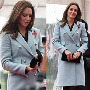 Kate Middleton: Matthew Williamson Manto