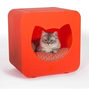 Kediler İçin Tasarlanan Eğlenceli Modüler Evler