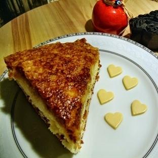 Kekinden Kremasına Ev Yapımı Elmalı Tarçınlı Pasta