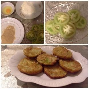 Kızarmış Yeşil Domatesler - Domates Kızartması