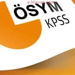 KPSS-2014/2 Tercih Yapacak Adayların Dikkatine